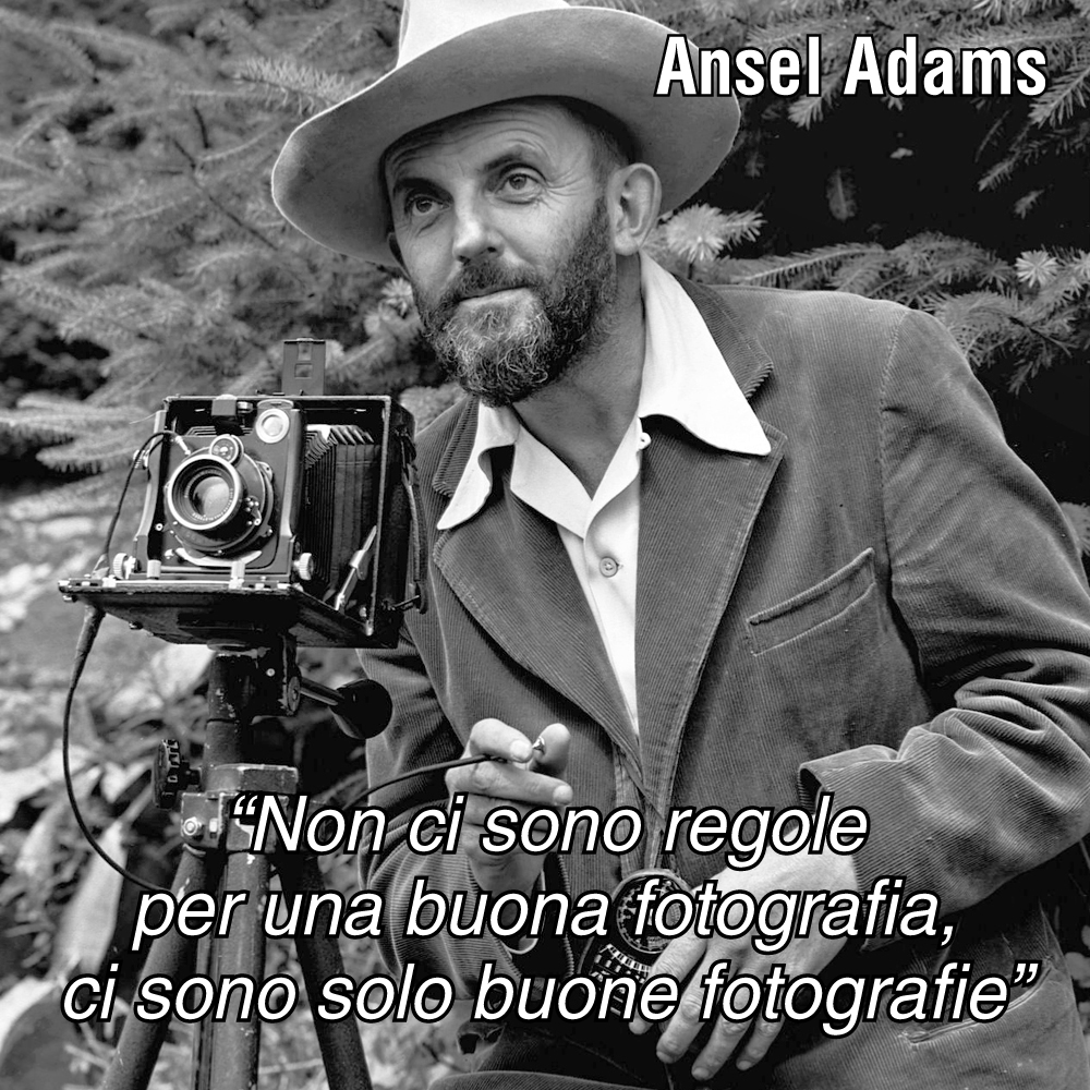 Aforismi Ansel Adams